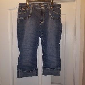 Size 20 capri jeans angels brand